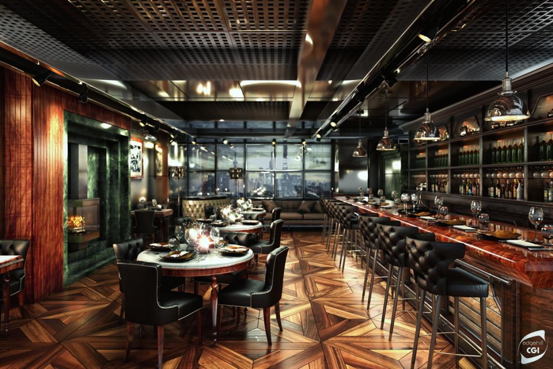 Elegante Restaurant 3D Design